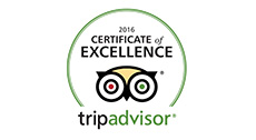 TripAdvisor - 2016 Certificate of Excellence